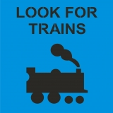 LOOK FOR TRAIN symbol