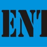 NO ENTRY serif
