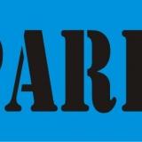 NO PARKING serif