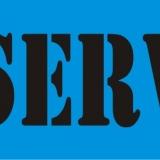 RESERVED serif