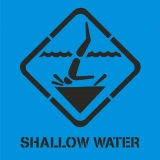 SHALLOW END symbol
