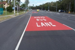 72D Bus Lanes Gold Coast Splatter Coat