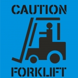 CAUTION FORKLIFT symbol